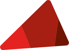 Red logo wedge