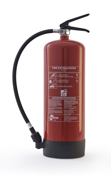 Red water fire extinguisher