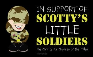 In Support Of Scottys Little Soldiers Charity logo