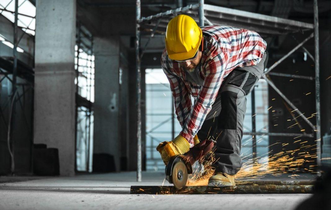 Left-handed workman
